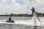 Florida Keys Jetpack off Islamorada in the Florida Keys.