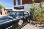Old police car from Andy Griffith TV show in Lowell, just outside Bisbee, AZ