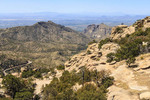 View from Windy Point, along the road up Mount Lemmon in southern Arizona.