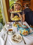High tea at Abkhazi Teahouse in Victoria, BC, Canada.