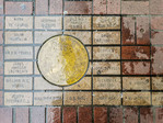 The Fort Victoria Brick Project honors early Victoria pioneers and settlers with bricks on Government Street.