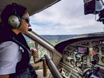 Kenmore Air pilot enroute from Seattle to Victoria, BC, Canada.