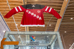 Olympic Experience, a museum with Olympic memorabilia and interactive rides for folks who want to try feeling like an Olympic athlete.