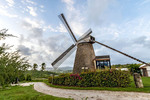 Morgan Lewis Windmill, St. Andrew, Barbados is the last sugar windmill to operate in Barbados.