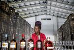 Rum tasting at Mount Gay Rum distillery in Bridgetown, Barbados