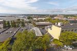 Aerial view of Bellingham, WA.