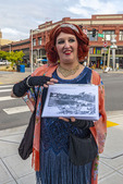 Good Time Girls is a company that takes people on historical walking tours of Bellingham, WA. The guides dress in 1920s flapper era clothing and have a great sense of humor.