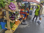 Bellingham Farmers Market, open in downtown Bellingham on Saturday April to October, it features four dozen farmers, nearly 60 craft stands and 40+ food venders.