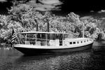 backwater anchorage, English oxbow, Caloosahatchee (River)