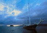 Motor schooner Beagle, Islas Marielas, Isabela, and Fernandina