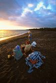 Waiting for panga, Playa Tortuga Negra, restricted visitor site
