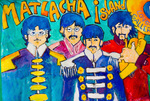 The Beatles as Sgt. Pepper's Lonely Hearts Club Band