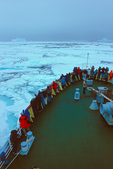 Icebreaker MV Polar Star in pack ice