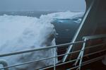 Sea ice level with third-deck railing, icebreaker MV Polar Star