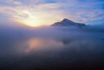 Sunrise over Paulet Island