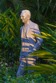 Cold-cast aluminum statue of Henry Ford by D.J. Wilkins