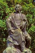 Nathaniel Hawthorne Statue, sculptured by Bela Lyon Pratt, Salem, Massachusetts