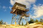 Beech Mountain Fire Lookout Tower, Acadia National Park, Mount Desert Island, Maine