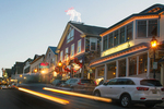Car Streaks at Night, Bar Harbor, Mount Desert Island, Maine