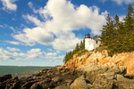 Bass Harbor Head Light, 19th Century Lighthouse, Acadia National Park, Mt. Desert Island, Maine