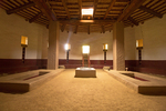 Great Kiva Interior, Ancestral Puebloan Ruins, Aztec Ruins National Monument, Aztec, New Mexico