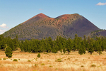 Sunset Crater Volcano National Monument, Volcanic Cinder Cone, Flagstaff, Arizona