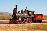 #119 Steam Locomotive, Golden Spike National Historic Site, Promontory Summit, Utah