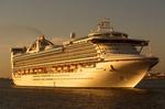 Golden Princess Cruise Ship, Grand-Class Cruise Ship, Princess Cruises, Boston, Massachusetts