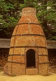 19th Century Style Brick Pottery Kiln, Updraft Bottle Kiln, Old Sturbridge Village, Sturbridge, Massachusett