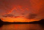 Walden Pond Sunset, Glacial Kettle Hole Pond, Concord, Massachusetts