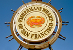 Sign, Fisherman's Wharf, San Francisco, California