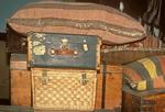 Ellis Island Luggage Exhibit, Statue of Liberty National Monument, New York City, NY