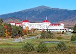Mount Washington Hotel and Mount Washington, Omni Mount Washington Resort, Renaissance Revival Architectural Style, White Mountains, Bretton Woods, Crawford Notch, New Hampshire