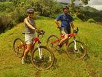 Biking on Kuilau Ridge, Hawaiian Islands, Lihue, Kauai, Hawai