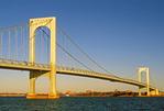 Bronx-Whitestone Suspension Bridge, East River, Queens, New York