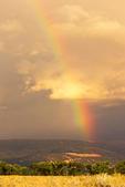 Rainbow in Grand Teton National Park, Teton Mountain Range, Jackson Hole, Wyoming