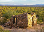 Levy Store, Victoria Mine Ruins, Organ Pipe Cactus National Monument, Sonoran Desert, Arizona
