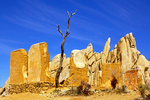Adobe Ruins at Ryan Ranch, Joshua Tree National Park, Twentynine Palms, California