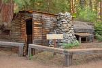 Tharp's Log Tree House, Hollowed Giant Sequoia Tree, Log Meadow, Giant Forest, Sierra Nevadas, Sequoia National Park, California