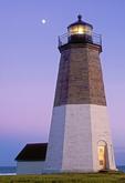Point Judith Light, Narragansett Bay, Rhode Island