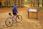 Biking on Battle Road, Minuteman National Historical Park, Concord, Massachusetts