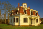 Edward Penniman House, Second Empire Architectural Style, Fort Hill, Cape Cod National Seashore, Eastham, Massachusetts