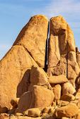 Erosional Formation on Split Rock Trail, Quartz Monzonite Granite, Joshua Tree National Park, Twentynine Palms, California