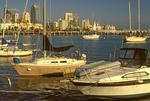 San Diego Harbor Waterfront and Skyline, San Diego, California