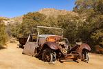 Rusted Abandoned Truck, Wall Street Mill Trail, Joshua Tree National Park, Twentynine Palms, California