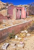 Pink House Ruins, Wonderland Ranch Ruins, Wall Street Mill Trail, Joshua Tree National Park, Twentynine Palms, California