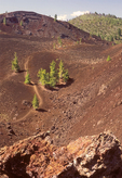 North Crater Flow Trail, Craters of the Moon National Monument and Preserve, Idaho
