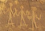 Anasazi Petroglyphs, Penasco Blanco Trail, Chaco Culture National Historical Park, New Mexico