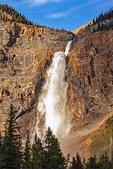 Takakkaw Falls and Rainbow, Canadian Rockies, Yoho National Park, British Columbia, Canada