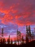 Crater Lake Sunset, Crater Lake National Park, Oregon